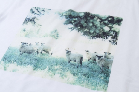 photo printed ont t-shirt