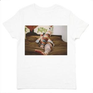 写真プリントTシャツ フォトTシャツ 白