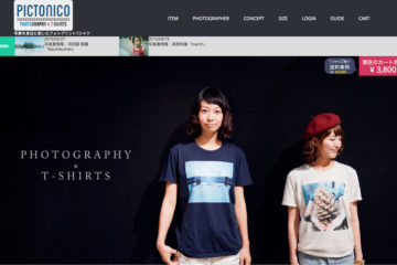 pictonico photography t-shirt NEWウェブサイト
