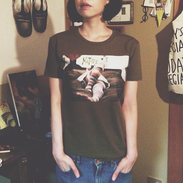 gin. 写真Tシャツ フォトTシャツ 「relax」
