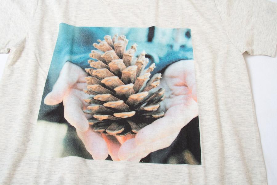 写真Tシャツ フォトTシャツ 着心地